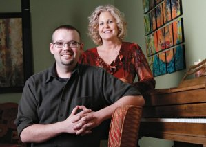 Pianist Brian Swearingen and singer Cathy Kelly are among the many fine artists that perform at Barnard Griffin Wine Bar and Eatery