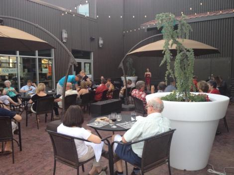 Barnard Griffin Wine Bar and Eatery Patio Entertainment