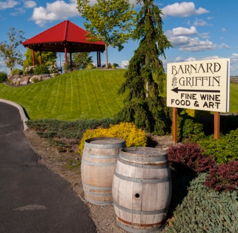 Barnard Griffin Winery Gazebo