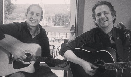 Tony Woods and J. P. Benitez are one of the many fine acts that perform at the Barnard Griffin Wine Bar and Eatery
