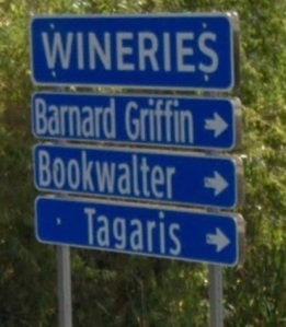 Tulip Lane Wine Stroll: Tagaris, Barnard Griffin and J. Bookwalter wineries