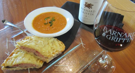 Barnard Griffin Wine Bar and Eatery Croque-Monsieur