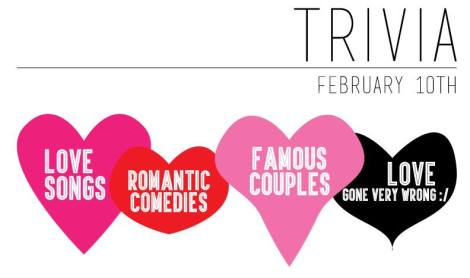 Valentine Trivia at Barnard Griffin Wine Bar and Eatery