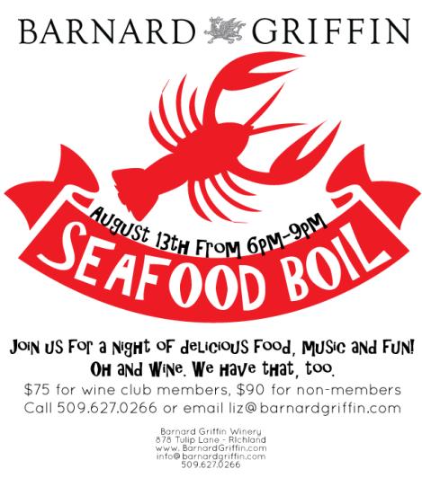 Barnard Griffin Seafood Boil