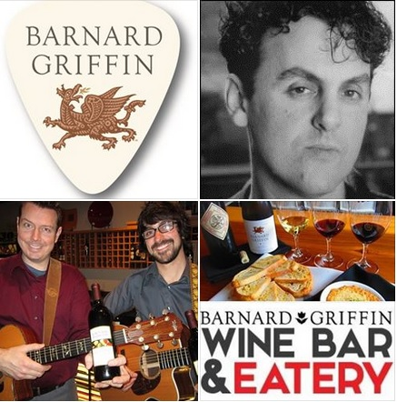 Barnard Griffin Wine Bar and Eatery Presents: 12/11 – Jim Basnight 12/12 – Knutzen Brothers.  Live Music in the Tri-Cities area, Richland, Washington